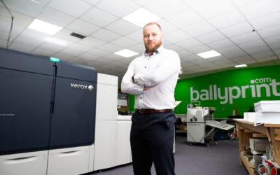 NI first as Ballyprint takes Xerox Iridesse