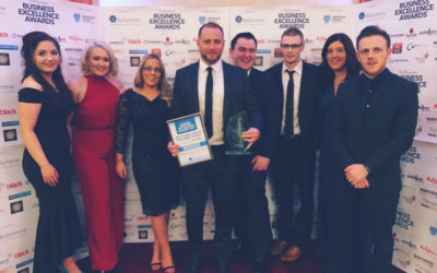 WINNER – Best young person in business award