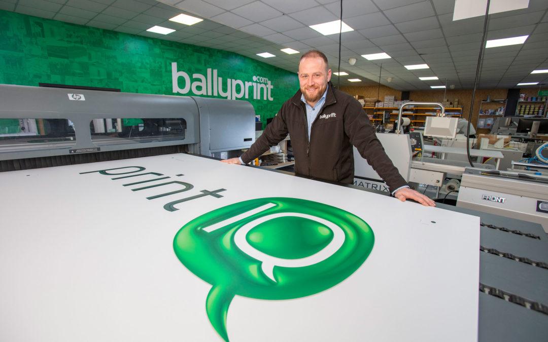 Ballyprint FIRST in N.Ireland… again !