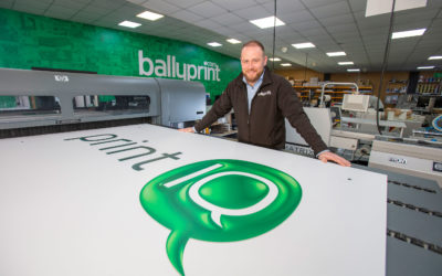 Ballyprint FIRST in N.Ireland… again !